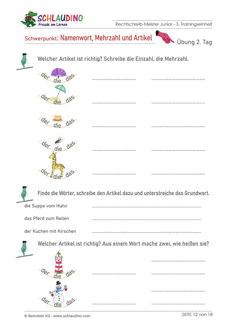 Fine Mehr Probleme Schritt Wort 4Klasse Arbeitsblatt Vignette ...