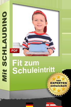 SCHLAUDINO fit zum Schuleintritt Cover