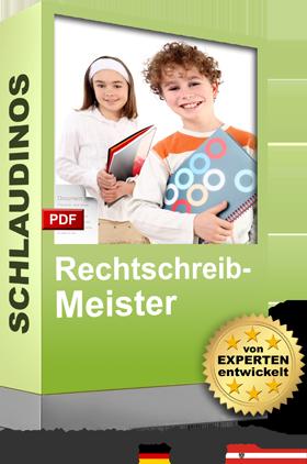 SCHLAUDINOS Rechtschreib-Meister Cover