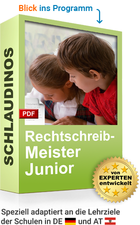 SCHLAUDINOS Rechtschreib-Meister Junior Cover