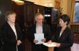 Karl & Margareta Beinstein bei der österreichischen Parlamentspräsidentin