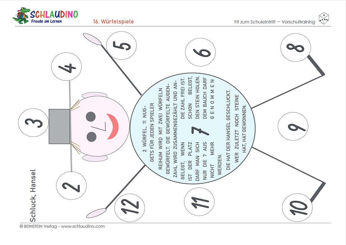 Verständnis für Mengen und Zahlen - Vorschule im Kindergarten