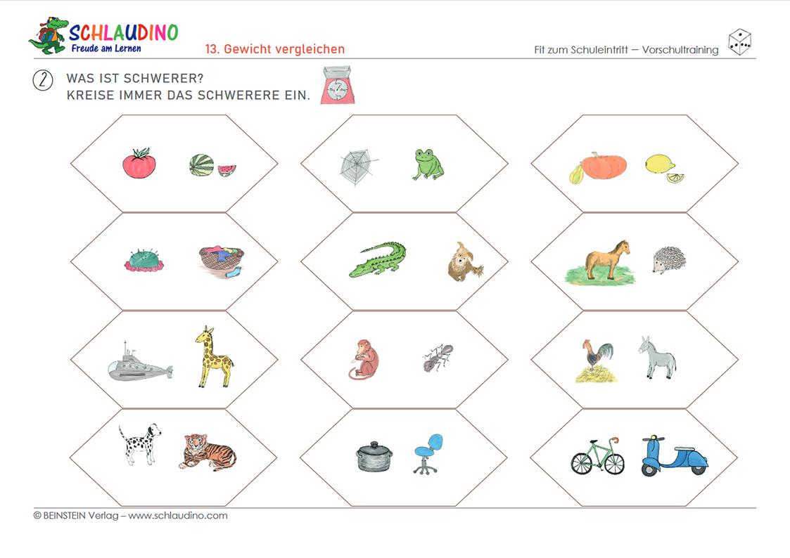 Verständnis für Mengen und Zahlen   Vorschule im Kindergarten